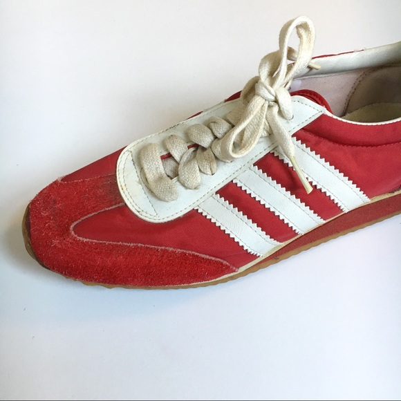 8c6b7e3716bd Vintage 1970s Red Sneakers. M 5becb6873c984415701c724c